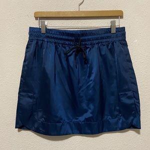 Hunter for Target Satin Sheen Navy Skirt Medium
